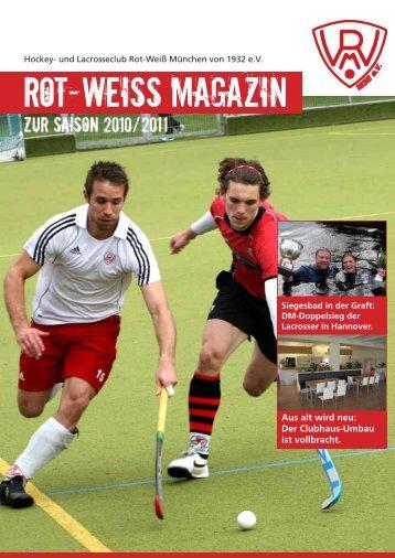 Saisonheft 2010/2011 - HLC Rot-Weiß München eV