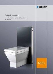 Geberit Monolith - BHT Berliner Haustechnik Service GmbH