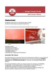 Pflegetipps für Boote Kunststoffe / GfK / Gelcoat - ROTWEISS ...