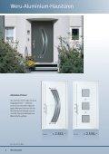 Weru-Aluminium und Kunststoff-Haustüren Aktions ... - Weru AG - Page 2