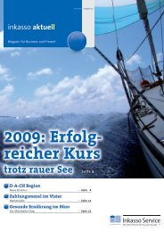 2009: Erfolg- reicher Kurs - IS-Inkasso Service GmbH & Co KG