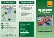 Recycling - TBZ Flensburg