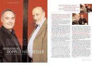Männerbund. Doppelt hält besser. Ferran Adria und ... - Food Ethics