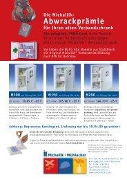 Abwrackprämie - Fritz Oskar Michallik GmbH & Co.