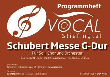 Schubert Messe G-Dur - Marktgemeinde Heiligenkreuz am Waasen