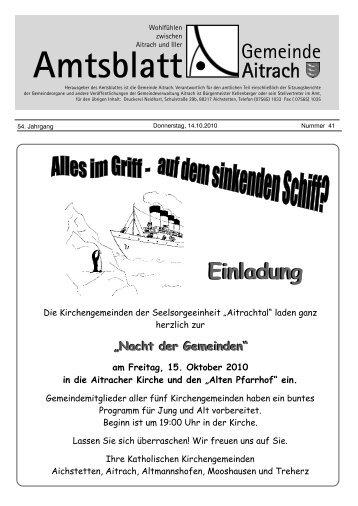 Alten Pfarrhof - Aitrach