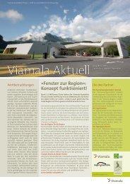 Fenster zur Region»: Konzept funktioniert! - Viamala