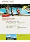 Sommer 2011 Erlebnisprogramm - Prättigau - Page 6