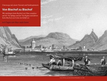 Von Bischof zu Bischof - Rotpunktverlag