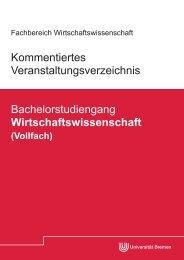 Kommentiertes Veranstaltungsverzeichnis Bachelorstudiengang ...