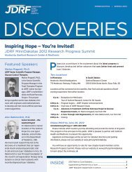 Inspiring Hope – You're Invited! - JDRF