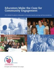 Educators Make the Case for Community Engagement