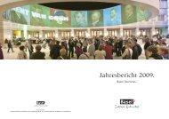 Jahresbericht 2009. - About Basel Tourism - Basel.com