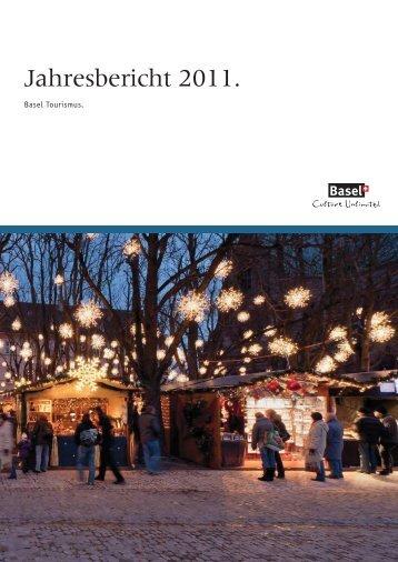 Jahresbericht 2011.pdf - About Basel Tourism - Basel