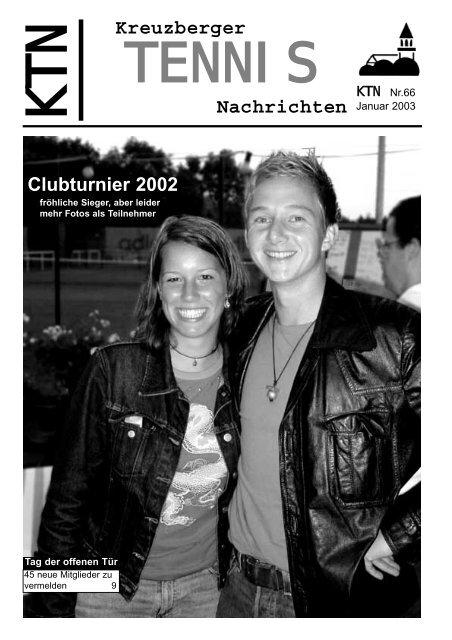 Medenspiele 2002 - Tennisclubs Grün Weiß Am Kreuzberg