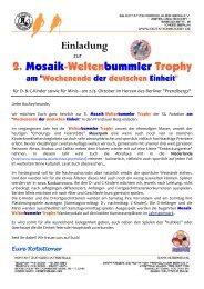 2. Mosaik-Weltenbummler Trophy - Hockey in Berlin: Rotation ...