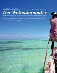 Portfolio: Peter Schickert Der Weltenbummler - Bilder aus aller Welt