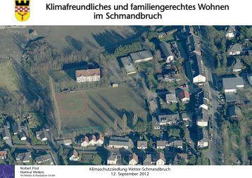 Wohngebiet Sunderweg - Stadt Wetter
