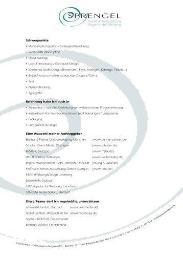 Download PDF 90 KB - bei Sprengeldesign