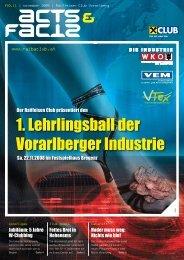 1. Lehrlingsball der Vorarlberger Industrie - Raiffeisen