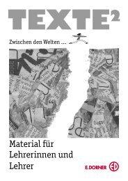 Texte - Verlag E. Dorner
