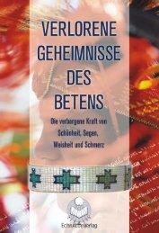 verlorene geheimnisse-inhalt - EchnAton-Verlag