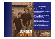 Handout Fachtag Jungenwelten 2012.pptx - Jugend in MV