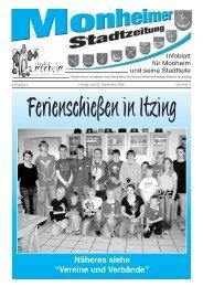 Familienanzeigen www.wittich.de - Monheim