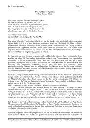 Mythos von Agartha - Thomas Ritter Reisen