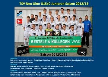 TSV Neu Ulm - jfgwittelsbacherland.de