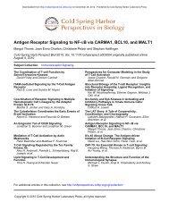 Antigen Receptor Signaling to NF-kB via CARMA1, BCL10, and ...