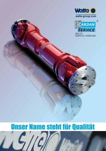 Gelenkwellen Drive Shafts Rohrbiegetechnik ... - Technical Avenue