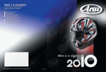 ARAI Preisliste 2010 RX-7 GP Black Frost 729,00 Hopkins ... - Honda