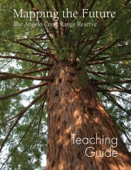 Teaching Guide Mapping the Future - Natural Reserve System