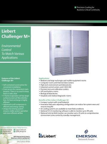 Liebert Challenger M+ - Emerson Network Power