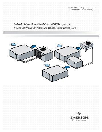 Liebert® Mini-Mate2™– 8-Ton - Emerson Network Power