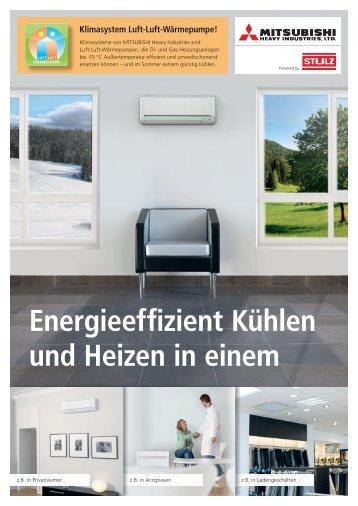 Energieeffizient Kühlen und Heizen in einem - Hans Hund