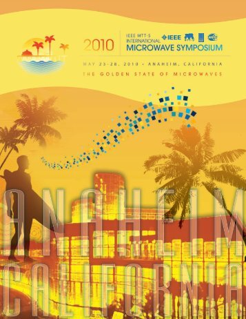 Program Book (PDF) - IEEE MTT 2010 International Microwave ...
