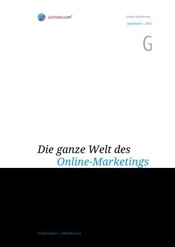 Die ganze Welt des Online-Marketings - Online-Marketing & Social ...