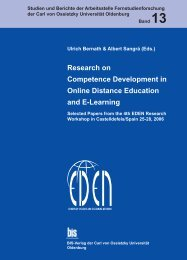 Research on Competence Development in Online Distance ...