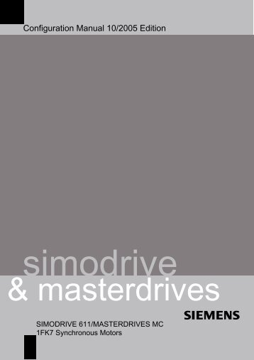 Simovert masterdrives motion control siemens industry, inc.