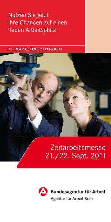 Zeitarbeitsmesse 21./22. Sept. 2011