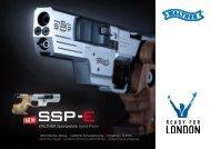 Walther SSP-E Prospekt D / E