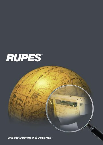 RUPES Woodworking Systems