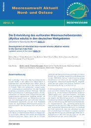 (Mytilus edulis) in den deutschen Wattgebieten - BLMP Online
