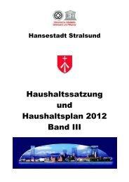 Jahresabschluss 2010 SWS Stadtwerke Stralsund GmbH
