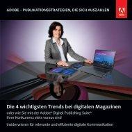 Die 4 wichtigsten Trends bei digitalen Magazinen - Adobe Digital ...