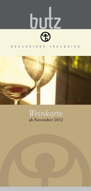 Weinkarte - Weingut Christian Butz
