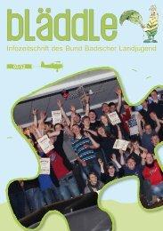 A grar - BBL - Bund der Deutschen Landjugend