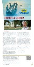 FREUDE & GENUSS - Uferhaus